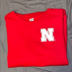 Nebraska Huskers PINK Sweatshirt